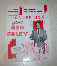 Jubilee USA All New Souvenir Picture Album Starring Red Foley 3rd Edition