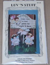 "Garden ""Angel Blossoms"" Tole Painting Pattern Pack NIP"