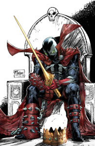 🔥 KING SPAWN #1 SIGNED Todd McFarlane 1:250 Variant Image Release 08/18/2021 🔥