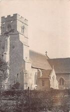 Suffolk - HERRINGSWELL Church of St. Ethelbert - Real Photo