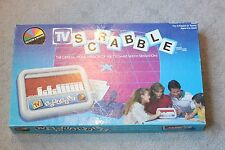 Vintage Selchow & Righter TV Scrabble Board Game