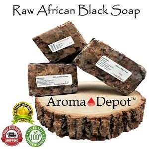 Raw African Black Soap Fresh Premium Quality Unrefined From Ghana Wholesale Bulk