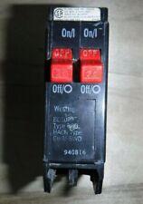 Used Westinghouse Bd2020 Single Pole Tandem 20 Amp 120V Circuit Breaker, Nr