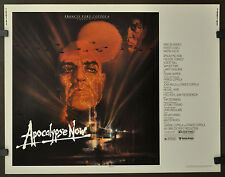 APOCALYPSE NOW 22X28 ORIGINAL 1979 MOVIE POSTER MARLON BRANDO MARTIN SHEEN