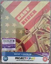 Easy Rider Steelbook Blu-Ray - UK Exclusive Project PopArt / Gallery 1988 Design