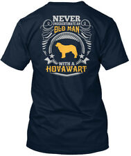 Old Man With A Hovawart T S Premium Tee T-Shirt