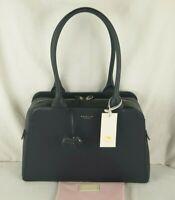 Radley London Millbank Navy Blue Leather Shoulder Bag Medium to Large New