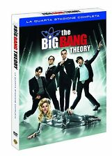 THE BIG BANG THEORY STAGIONE 4 (3 DVD) COFANETTO SERIE TV