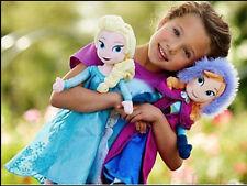 "Frozen Sisters Doll 20"" Plush Dolls of Anna/Elsa, NEW FREE EXPRESS SHIP"