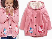 NEXT Mantel Jacke mit Kapuze Peppa Pig für Mädchen 9-12 Monate 80cm 15b