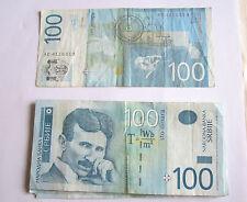 1 billet 100---dinara-2013---SERBIE-TB++++