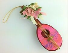 Midwest of Cannon Falls Wooden Ukulele Ornament Vintage Made in Taiwan