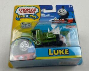 LUKE Thomas the Tank Engine & Friends Take N Play Along Diecast Metal Train
