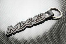 MAZDA MX5 Leather Keyring, Keychain Schlüsselring, Porte-clés. Miata Roadster ND