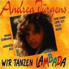 "ANDREA JÜRGENS ""WIR TANZEN LAMBADA"" CD NEW+"