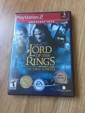 The Lord Of The Rings The Two Towers PS2 Sony PlayStation 2 Cib Game XP1