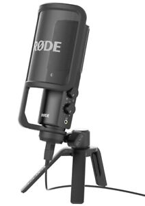 Rode NTUSB Microfono da studio USB e uscita cuffie