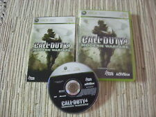 XBOX 360 XBOX360 CALL OF DUTY 4 MODERN WARFARE SHOOTER 3D USADO EN BUEN ESTADO