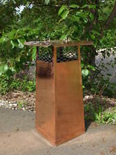 9'' X 9''-30'' Extended Height Copper Chimney Cap