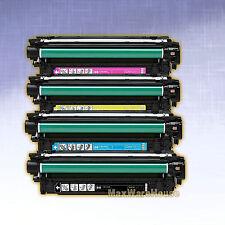 1 Set Compatible Color Toner Cartridge for HP CP3525N Printer