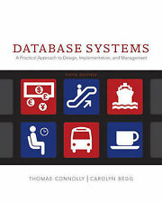 Database Systems: A Practical Approach to Design, Implementation and Management,