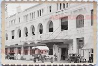 40s Street Scene Adelphi Hotel Car Truck Building Vintage Singapore Photo 17681