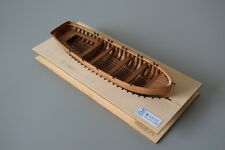 scale 1/48 small ship kit wood lifeboat kit full rib wood model ship kit
