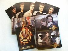 THE HUNGER GAMES: CATCHING FIRE Trading Cards Complete  Set   Jennifer Lawrence