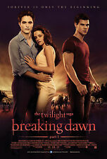 Framed Movie Print - The Twilight Saga Breaking Dawn Part 1 (Picture Poster Art)