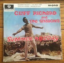 "Cliff Richard and the Shadows - Summer Holiday UK 1963 7"" E.P. Columbia Records"