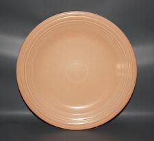 FIESTA APRICOT PEACH RETIRED 1998 DINNER PLATE 10 1/2 INCH