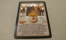 WWE Raw Deal EVOLUTION VENGEANCE #37 PROMO CARD
