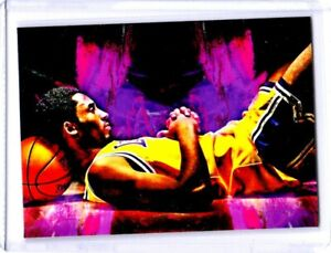 2021 Kobe Bryant Los Angeles Lakers 1/1 Art ACEO Print Card By:Q