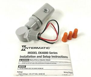 Intermatic EK4236S Stem and Swivel 120-277V Photo Control LED Compatible 19822