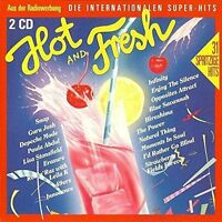 Hot & Fresh (1990) Sydney Youngblood, Nick Kamen, Sandra, Blue System, .. [2 CD]