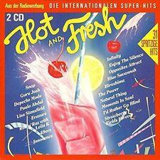 Hot & Fresh (1990) Sydney Youngblood, Nick Kamen, Sandra, Blue System, .. [2 CD]