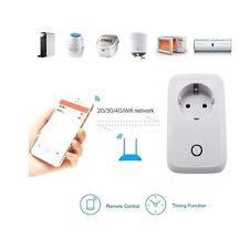 EU WiFi Wireless Home Fernbedienung Smart Switch Steckdose Socket für Smartphone