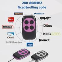315 418 433 868MHz Garage Door PTX4 Clone Remote Control Duplicator Replacement