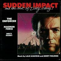 Sudden Impact Dirty Harry Schifrin Fielding 1983 Japan no obi LP WB P-11453 EX