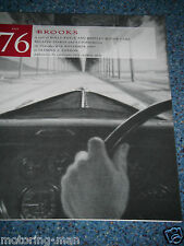BROOKS AUCTION CATALOGUE 1997 SALE 76 OLYMPIA LONDON ROLLS ROYCE BENTLEY CARS