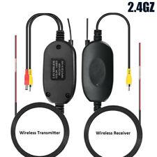 Auto Car Rear View Reverse Camera 2.4GHz Radio Wireless Transmitter Receiver