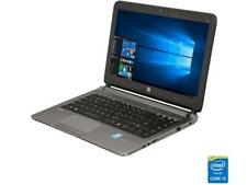 "HP 430 G1 13.3"" Grade A Laptop Intel Core i5 4th Gen 4300U (1.90 GHz) 4 GB Memor"