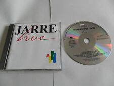 JEAN MICHEL JARRE -  Live (CD 1989) WEST GERMANY Pressing
