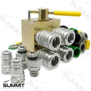 Manual Hydraulic Multiplier, SCV Splitter / Diverter Valve Kit, Pioneer Couplers