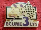 PIN'S VOITURE RALLYE RENAULT SUPER 5 GT TURBO ECURIE 3 LYS