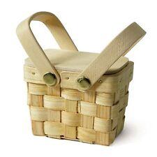 102 Miniature Woven Picnic Baskets Bridal Shower Wedding Favor Boxes