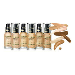 🔥2 x Max Factor Miracle Match Foundation 30 ml SEALED🔥