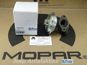 EGR Valve Jeep Cherokee KJ 2.5CRD & 2.8CRD 02-04 5096234AA New OEM Mopar