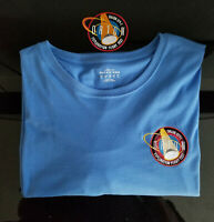 NASA - EFT-1 Embroidered Patch and Embroidered 2XL - XXL T-Shirt