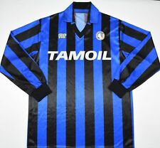 1990-1991 ATALANTA ENNERE HOME FOOTBALL SHIRT (SIZE M)